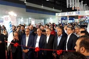 افتتاح نمایشگاه خودرو مشهد در غرفه سایپا