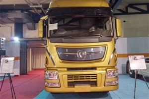 نسل جدید کامیون تولیدی سایپا دیزل در ایران رونمایی شد