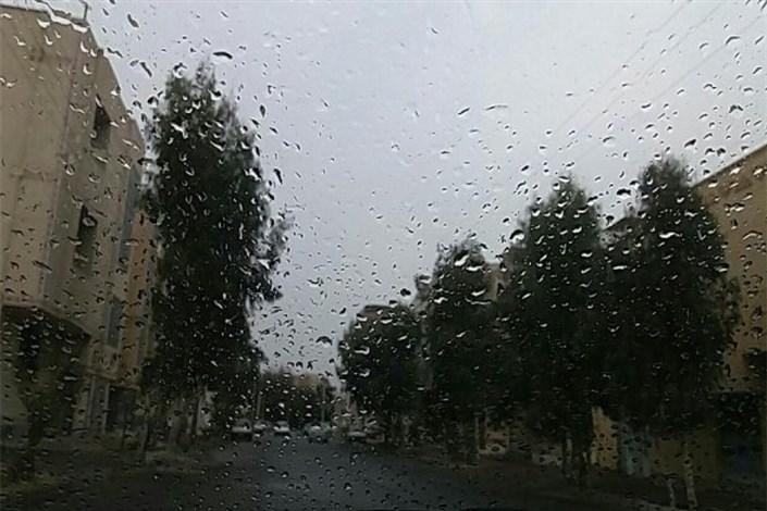 بارش پراکنده باران