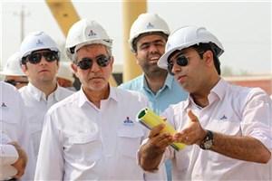 پیشرفت ساخت نیروگاه سیکل ترکیبی عسلویه به 76 درصد رسید