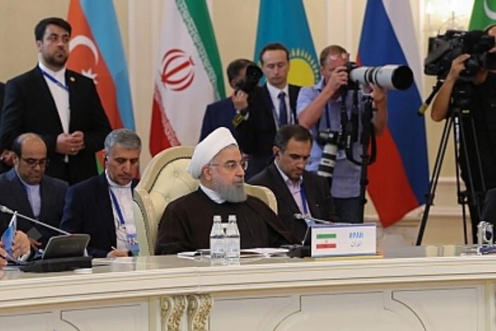 روحانی در قزاقستان