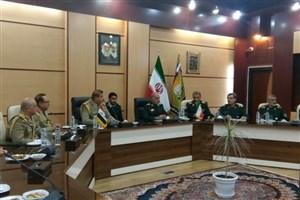 فرمانده مرزبانی عراق با معاون هماهنگکننده ستادکل نیروهای مسلح دیدار کرد