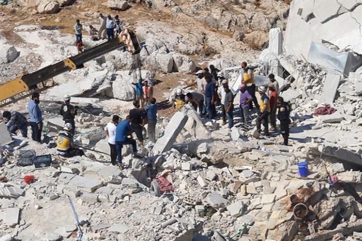 افزایش شمار تلفات انفجار ادلب سوریه