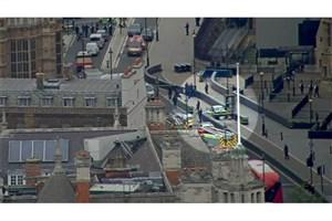 برخورد یک خودرو به دیوارهای حفاظتی پارلمان انگلیس