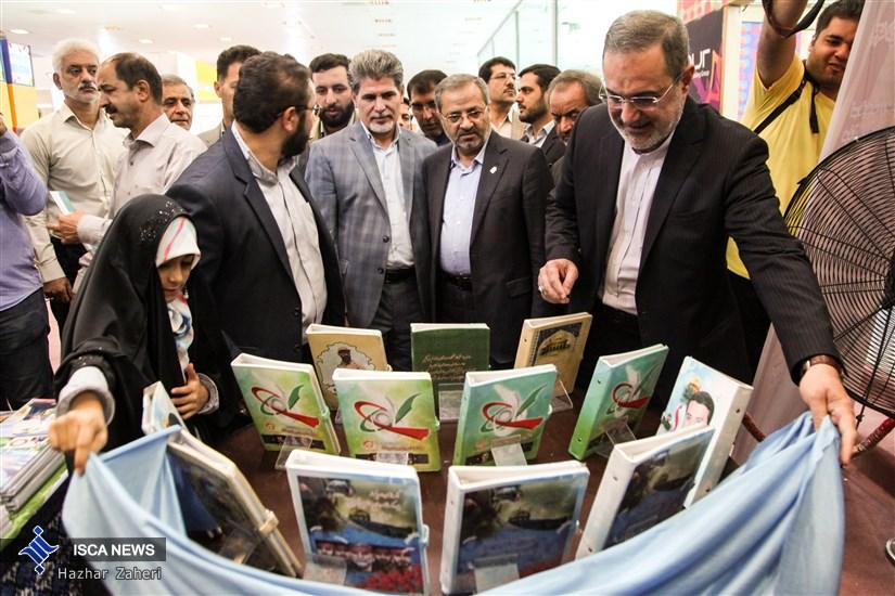 افتتاح نمایشگاه ایران نوشت با حضور وزیر آموزش و پرورش