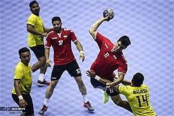 پیروزی تیم ملی هندبال ایران مقابل هنگکنگ