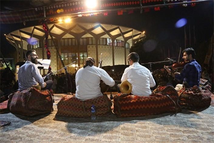 جشنواره اقوام ایرانی در محوطه تئاتر شهر