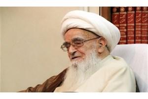 پیام آیت الله صافی گلپایگانی به کنگره اتحادیه جامعه اسلامی دانشحویان