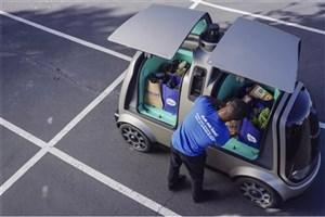 تحویل مواد غذایی با خودروهای بدون راننده در آریزونا