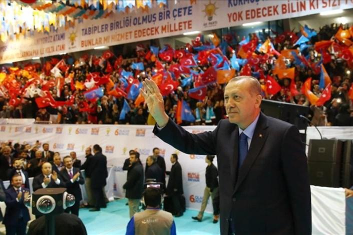 با کسب بیش از 1380 در کنگره حزب اردوغان دوباره بر کرسی ریاست عدالت و توسعه نشست