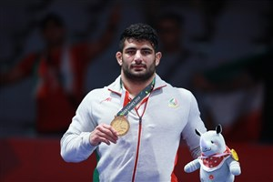 Shahriar IAU Student Seizes Gold for Iran in Asian Games
