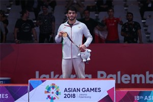 Qaem Shahr IAU Student Snatches Iran's First Gold in 2018 Asian Games