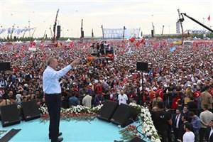 اردوغان: حمله به اقتصاد مانند حمله به پرچم است