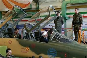 رونمایی از نخستین هواپیمای جنگنده ایرانی با نام «کوثر»