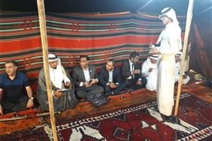 نمایش اتحاد اقوام خوزستان در جشنواره گردشگری ارومیه