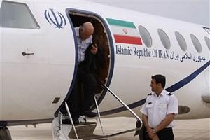 شرایط جوی، زنگنه را به تهران برگرداند