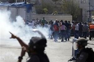 حمله رژیم صهیونیستی به معترضان فلسطینی در کرانه باختری
