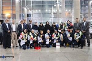 بازگشت ملیپوشان 5 رشته به ایران