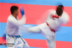 مدال نقره مسابقات جهانی  کاراته بر گردن دانشجوی دانشگاه آزاد اسلامی