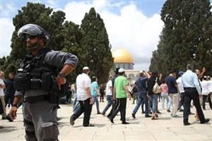 هجوم شهرک نشینان صهیونیست به  «مسجد الاقصی»