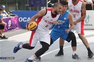 تیم ملی بسکتبال سه نفره ایران برنزی شد
