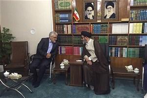 دکتر طهرانچی با نماینده ولی فقیه در استان آذربایجان شرقی دیدار کرد
