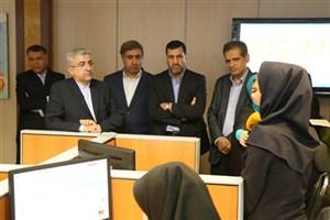 بازدید سرزده وزیر نیرو از فعالیت های توزیع برق تهران بزرگ