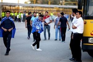 نیروهای اورژانس در ورزشگاه آزادی مستقر شدند