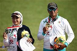 کسب مدال برنز مسابقات تیر و کمان - اندونزی 2018
