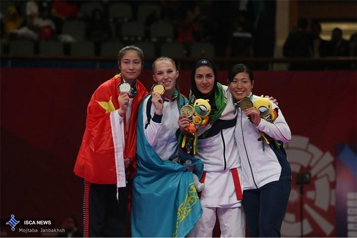 کسب مدال طلا و برنز مسابقات آسیایی کاراته - اندونزی 2018