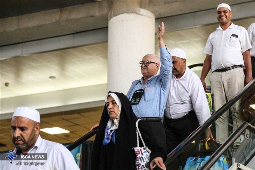 مراسم استقبال از بازگشت حجاج به کشور