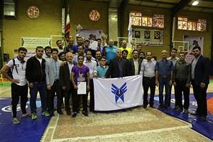 نتایج مسابقات کشتی آزاد و فرنگی دانشگاه آزاد اسلامی مشخص شد