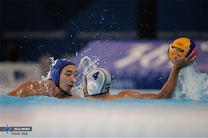 دیدار تیم های واترپلو ایران و ژاپن - مسابقات آسیایی اندونزی 2018