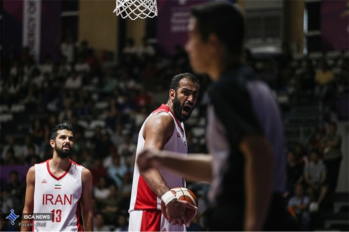 صعود آسمان خراشهای ایران به نیمهنهایی / مسابقات آسیایی بسکتبال 2018