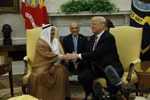 امیر کویت در راه کاخ سفید