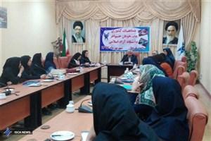 برگزاری مسابقات ورزشی دانشجویان دختر دانشگاه آزاد اسلامی در قوچان