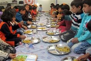 پوشش ۲۲۷هزار کودک برای دریافت یک وعده غذای گرم در مهد کودک ها