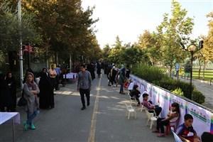 2 هرارکودک  طولانی ترین نقاشی تهران  را درپارک  رازی می کشند