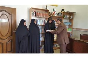 تقدیر از دانشجوی نمونه فرهنگی دانشگاه آزاد اسلامی واحد اردبیل