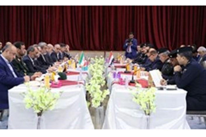 نشست مشترک هیأت های ایران و عراق در بغداد برگزار شد