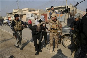 ۱۶ تروریست داعش در موصل دستگیر شدند