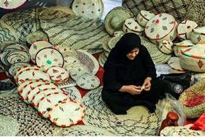 عرضه صنایع دستی بومی خوزستان در نمایشگاه منطقهای ایلام