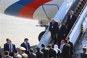 ولادیمیر پوتین وارد تهران شد