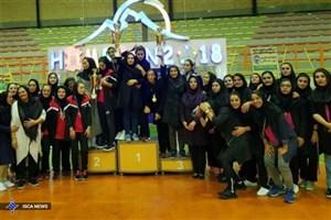 پایان رقابتهای دسته یک دختران دانشگاه آزاد اسلامی