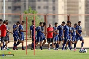 آغاز دور جدید تمرینات تیم ملی فوتبال