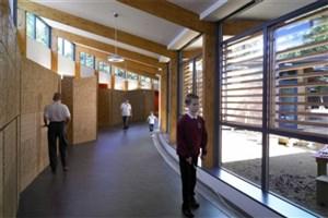 این مرکز آموزشی بر اساس نیاز دانش آموزان با اختلالات خاص طراحی  شده است