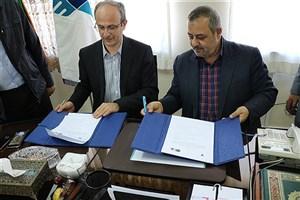 انعقاد تفاهمنامه همکاری دانشگاه آزاد اسلامی تبریز و تراکتورسازی ایران