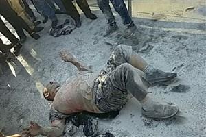 مرگ فردی که مقابل شهرداری تهران خودسوزی کرد