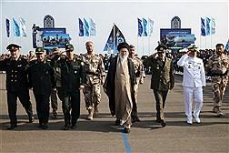 حضور فرمانده معظم کل قوا در دانشگاه افسری علوم دریایی ارتش - نوشهر