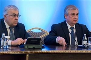 دیپلماتهای روس برای مذاکره با دیمیستورا وارد ژنو شدند
